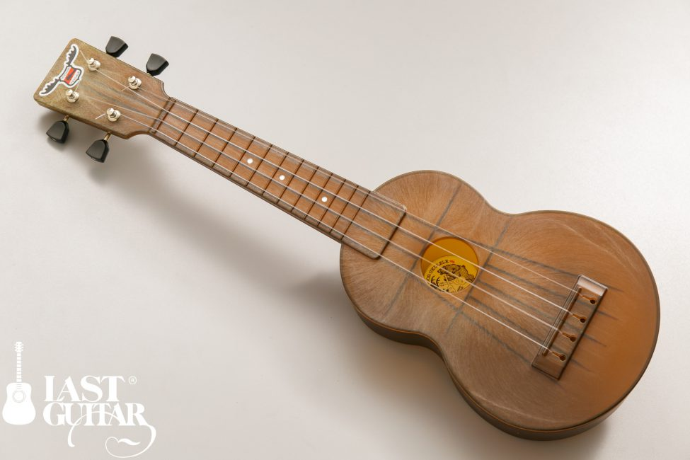 OUTDOOR UKULELE SOPRANO BROWN NICKEL