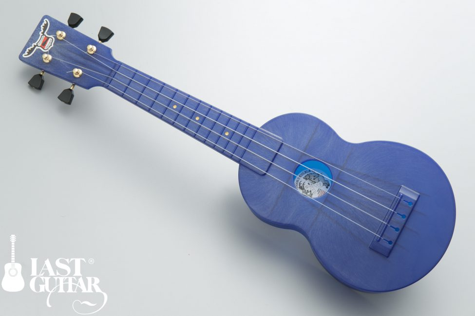 Outdoor Ukulele Sop Blue Gold