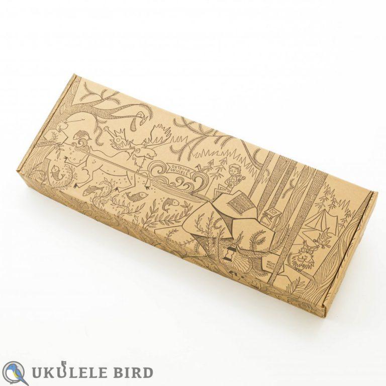 Outdoor Ukulele Tenor Carbon Gold w/Pickup