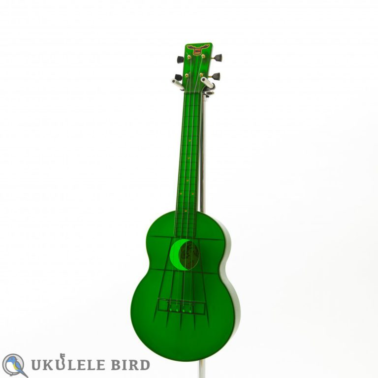 Outdoor Ukulele Tenor Green Gold