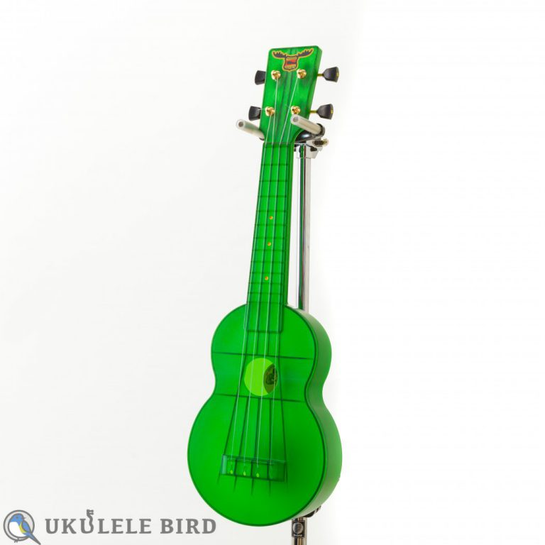 OUTDOOR UKULELE SOPRANO GREEN GOLD